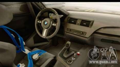 BMW M235i Coupe para visión interna GTA San Andreas