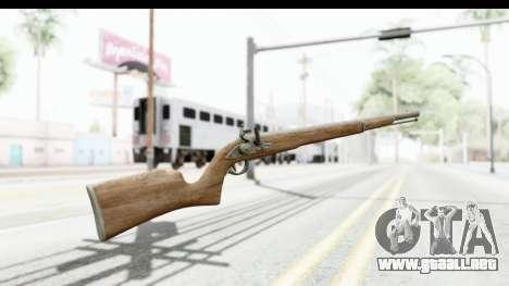 GTA 5 Musket para GTA San Andreas segunda pantalla