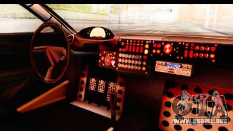 GTA 5 Progen Tyrus SA Style para vista lateral GTA San Andreas
