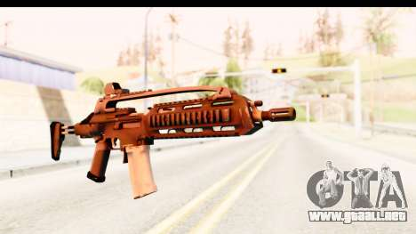 SCAR-LK para GTA San Andreas segunda pantalla