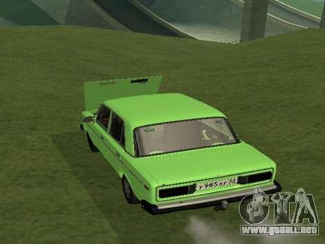 VAZ 2106 para GVR para GTA San Andreas left
