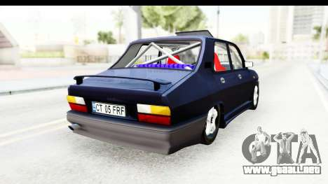 Dacia 1310 Berlina Tunata v2 para GTA San Andreas vista posterior izquierda