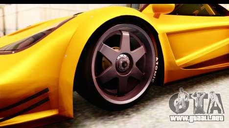 GTA 5 Progen Tyrus SA Style para visión interna GTA San Andreas