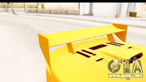 GTA 5 Progen Tyrus SA Style para la vista superior GTA San Andreas