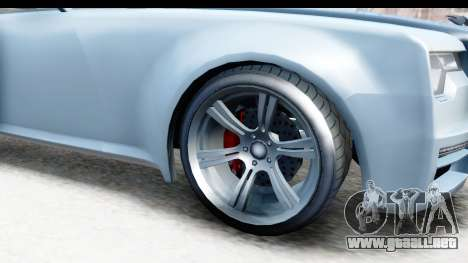 GTA 5 Enus Windsor Drop IVF para GTA San Andreas vista hacia atrás