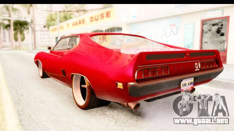 Ford Torino para GTA San Andreas left
