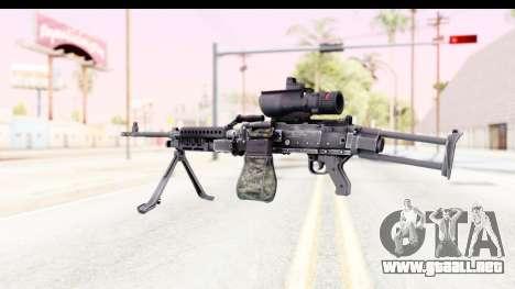 M240 FSK para GTA San Andreas segunda pantalla