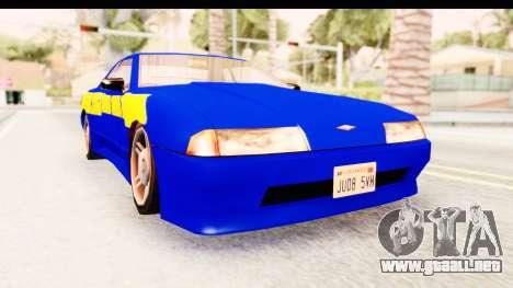 NFSU2 Tutorial Skyline Paintjob for Elegy para GTA San Andreas