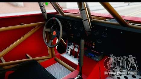 GTA 5 Trophy Truck SA Lights para visión interna GTA San Andreas