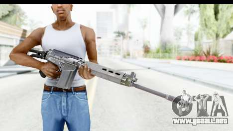 FN-FAL para GTA San Andreas tercera pantalla