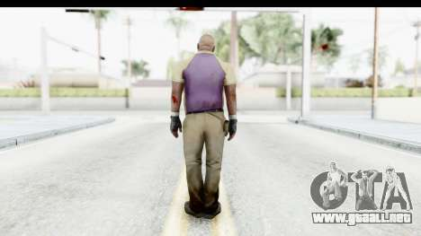 Left 4 Dead 2 - Coach para GTA San Andreas tercera pantalla