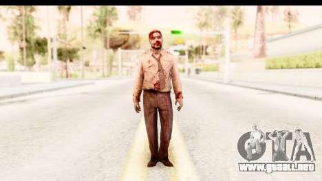 Left 4 Dead 2 - Zombie Pilot para GTA San Andreas segunda pantalla