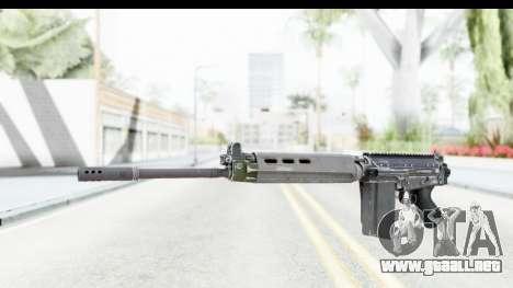 FN-FAL Folded para GTA San Andreas segunda pantalla