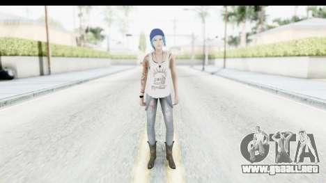 Life is Strange Episode 3 - Chloe Shirt para GTA San Andreas segunda pantalla