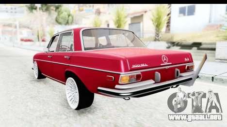 Mercedes-Benz 300SEL para GTA San Andreas left