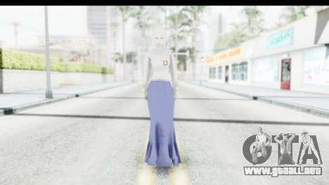 Muslim Girl para GTA San Andreas segunda pantalla