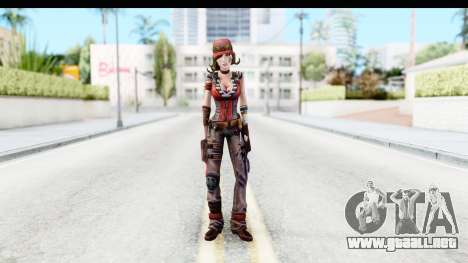 Borderland - Gaige para GTA San Andreas segunda pantalla