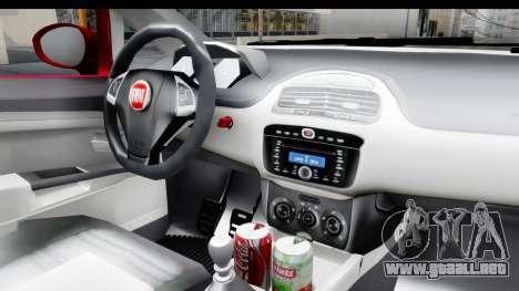 Fiat Linea 2015 v2 para visión interna GTA San Andreas