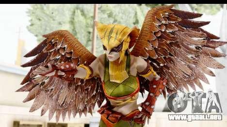Injustice God Among Us - Hawk Girl para GTA San Andreas