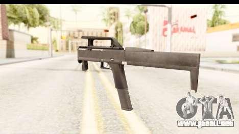 FMG-9 para GTA San Andreas segunda pantalla