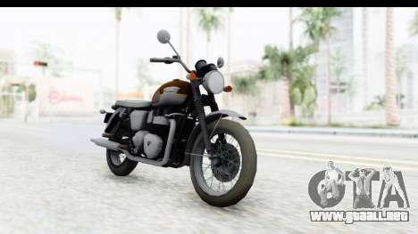 Metal Gear Solid V Phantom Pain Triumph para la visión correcta GTA San Andreas