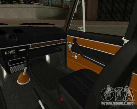 VAZ 2103 armenia para GTA San Andreas interior