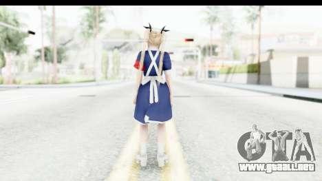 DoA 5: LR - Marie Rose Nurse v1 para GTA San Andreas tercera pantalla