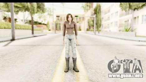 Helena Casual Skin para GTA San Andreas segunda pantalla