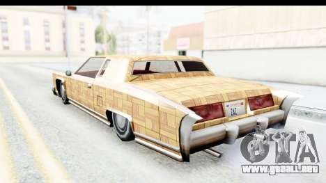 Remington New PJ para GTA San Andreas left