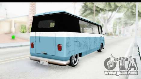 New Camper para GTA San Andreas left