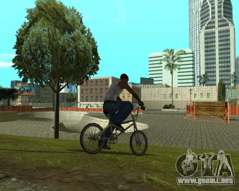 New HD Glen Park para GTA San Andreas sexta pantalla