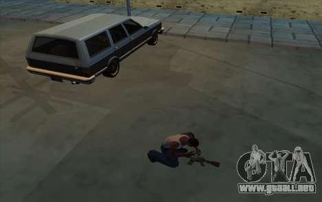 La posesión de armas para GTA San Andreas segunda pantalla