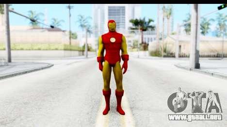 Marvel Heroes - Ironman para GTA San Andreas segunda pantalla