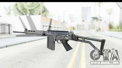 FN-FAL para GTA San Andreas segunda pantalla