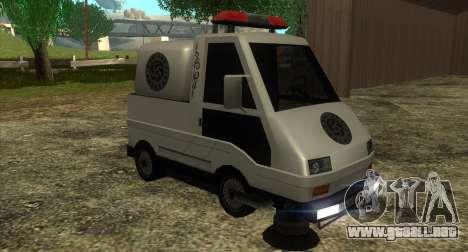 New Sweeper IVF para GTA San Andreas