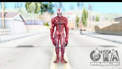 Marvel: Ultimate Alliance 2 - Carnage para GTA San Andreas segunda pantalla