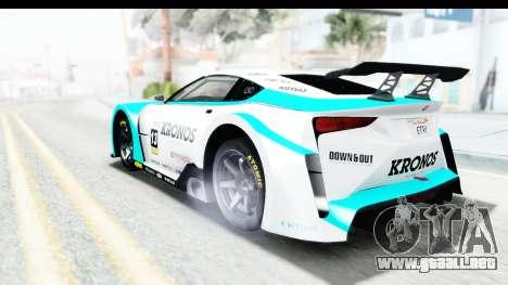 GTA 5 Emperor ETR1 v2 SA Lights para el motor de GTA San Andreas