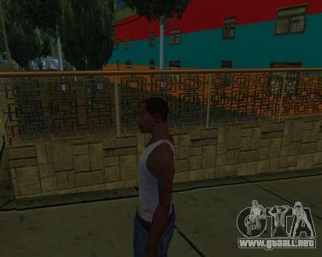 Armenian Jeferson para GTA San Andreas quinta pantalla