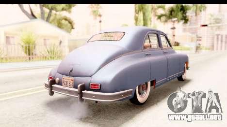 Packard Standart Eight 1948 Touring Sedan para GTA San Andreas left