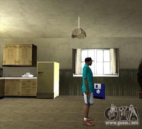 Camisa Tommy para GTA San Andreas sucesivamente de pantalla