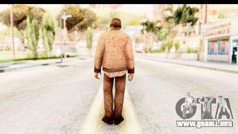 Left 4 Dead 2 - Zombie Rural para GTA San Andreas tercera pantalla