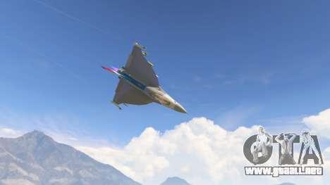 GTA 5 F-16XL USA octavo captura de pantalla