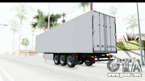 Trailer ETS2 v2 Old Skin 1 para GTA San Andreas left