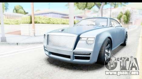 GTA 5 Enus Windsor Drop IVF para GTA San Andreas
