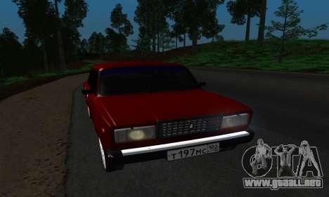 2107 para GTA San Andreas left