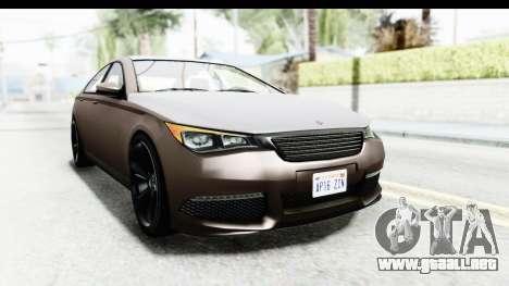 GTA 5 Ubermacht Oracle II SA Style para la visión correcta GTA San Andreas