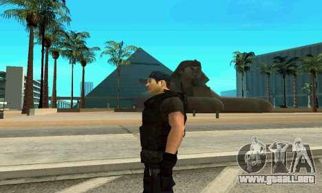 Entrenador de SWAT para GTA San Andreas tercera pantalla
