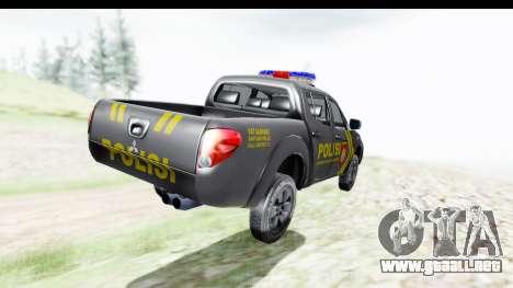 Mitsubishi L200 Indonesian Police para GTA San Andreas left