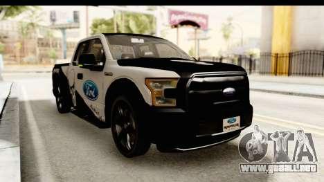Ford F-150 Tuning para la visión correcta GTA San Andreas