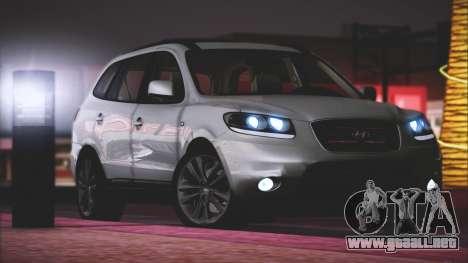 Hyundai Santa Fe Stock para GTA San Andreas